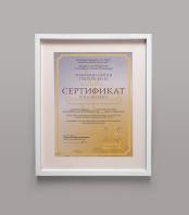 Сертификат Тибетское Рей Ки