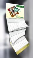 Шапка календаря для Лак Премьер