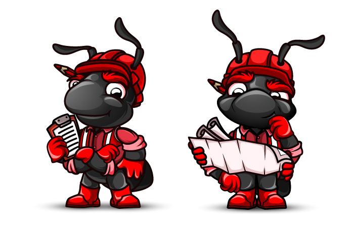 "Необходимо разработать дизайн персонажа ""Муравей"" для сайта  фото f_537577ddc24a3c12.jpg"