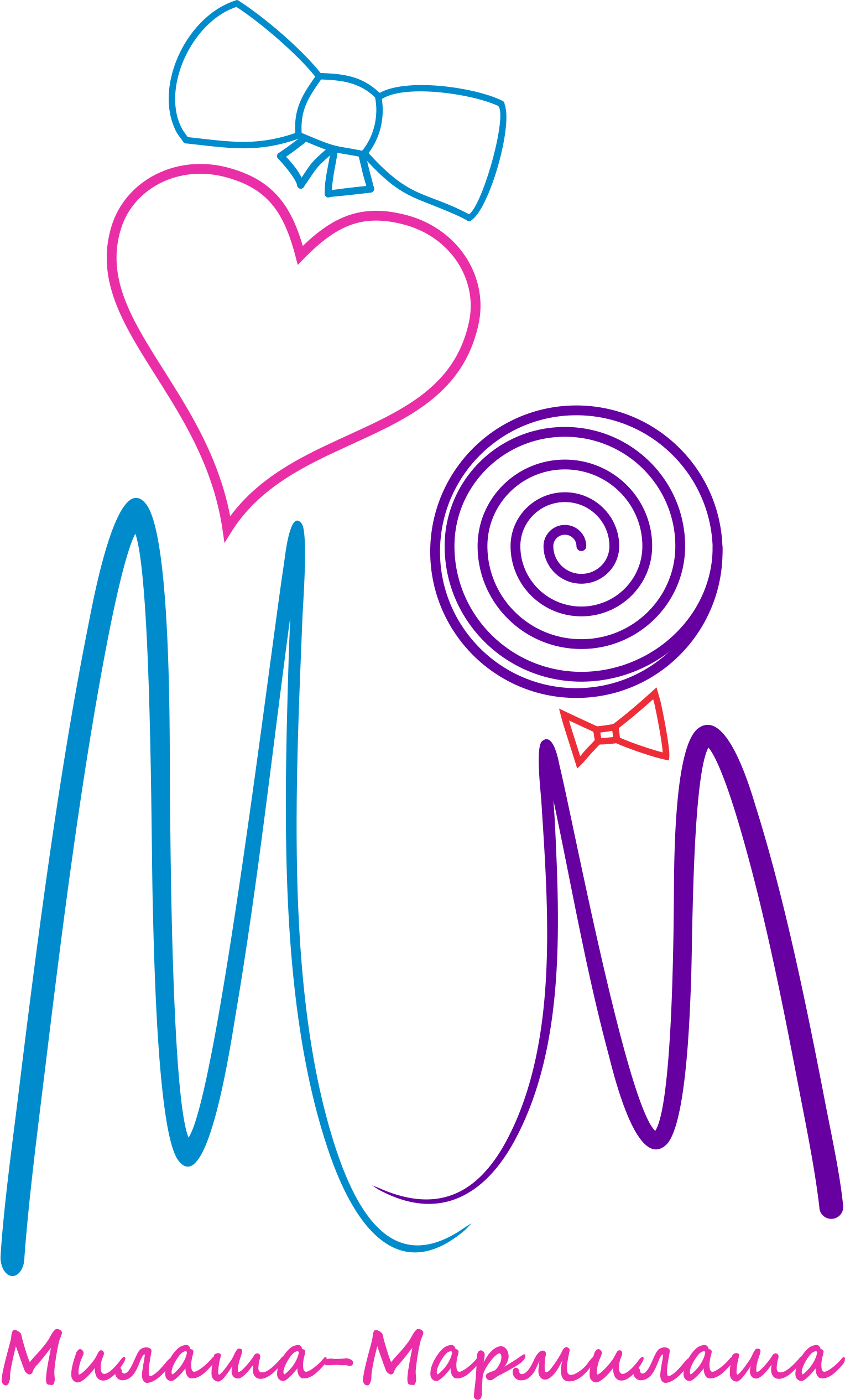 "Логотип для товарного знака ""Милаша-Мармилаша"" фото f_46758755d212029b.png"