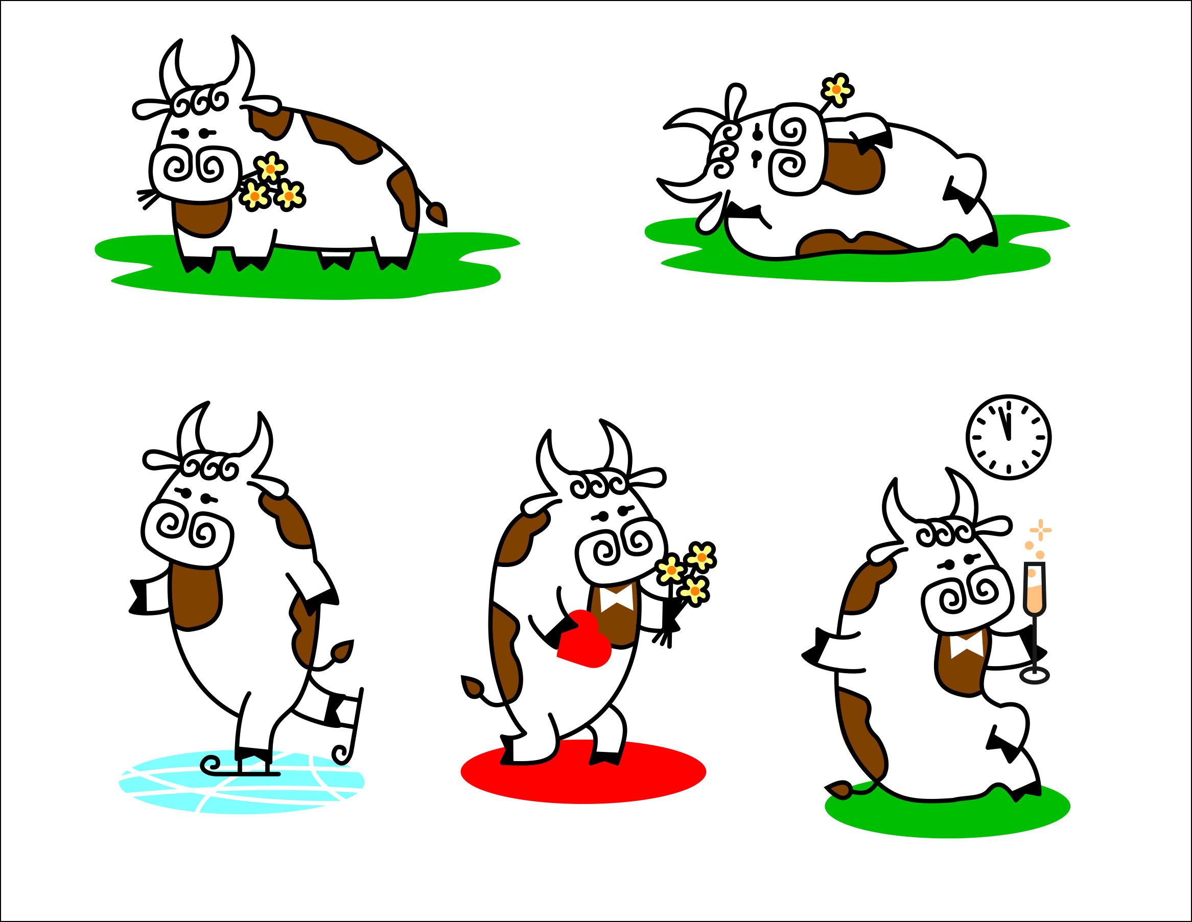 Создать рисунки быков, символа 2021 года, для реализации в м фото f_1705eea3bf8012aa.jpg