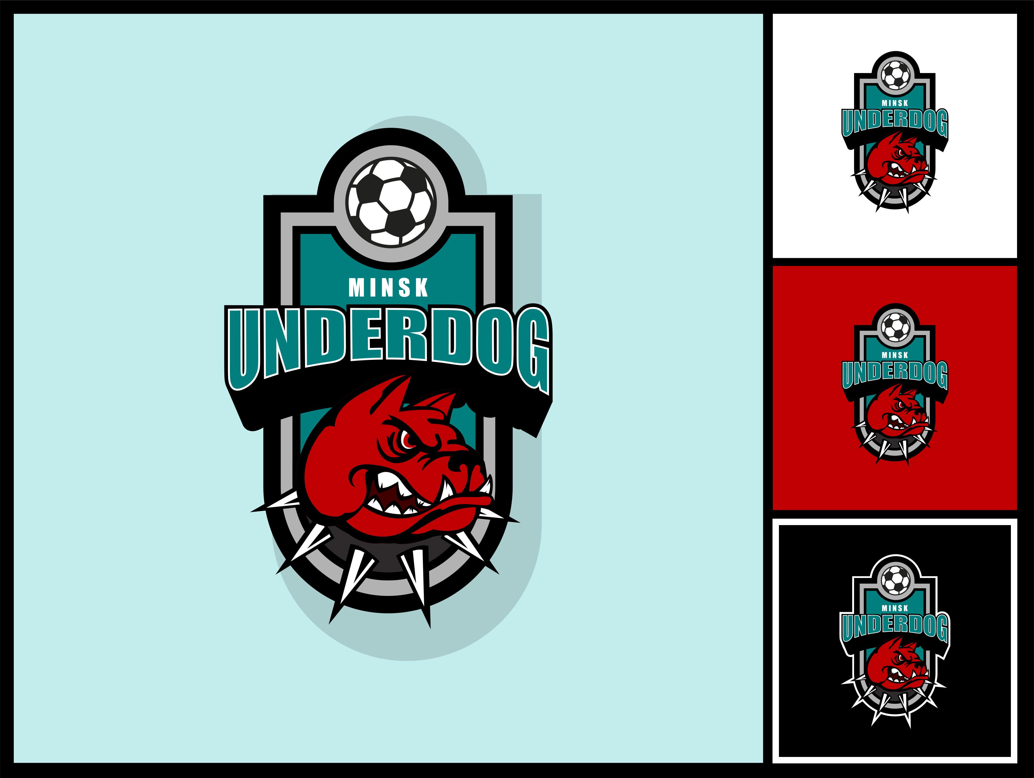 Футбольный клуб UNDERDOG - разработать фирстиль и бренд-бук фото f_8105cb09803bc69f.jpg