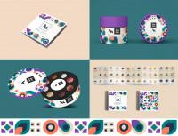 Дизайн коробки шоколадных конфет и буклета