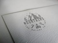 Логотип для бренда одежды MOUNTAINS