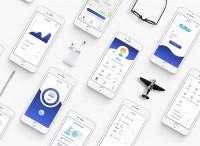Дизайн приложения для IOS и Android ''Aibeile''