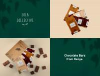 Дизайн упаковки коллекции шоколадных эко- конфет ZOLA COLLECTIVE