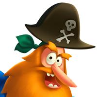 Пираты(персонажи для мобильного приложения)