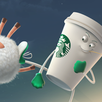 Starbucks triumph over sleep