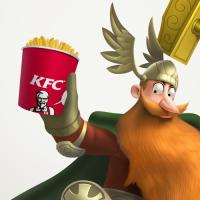 KFC – пища богов (скандинавские боги)