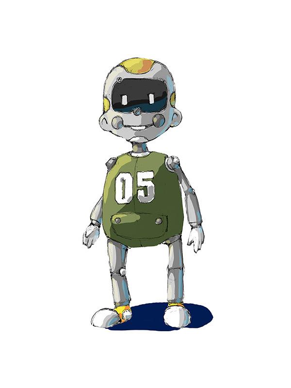 """Модель Робота - Ребёнка """"Роботёнок"""" фото f_4b54f1729299c.jpg"""