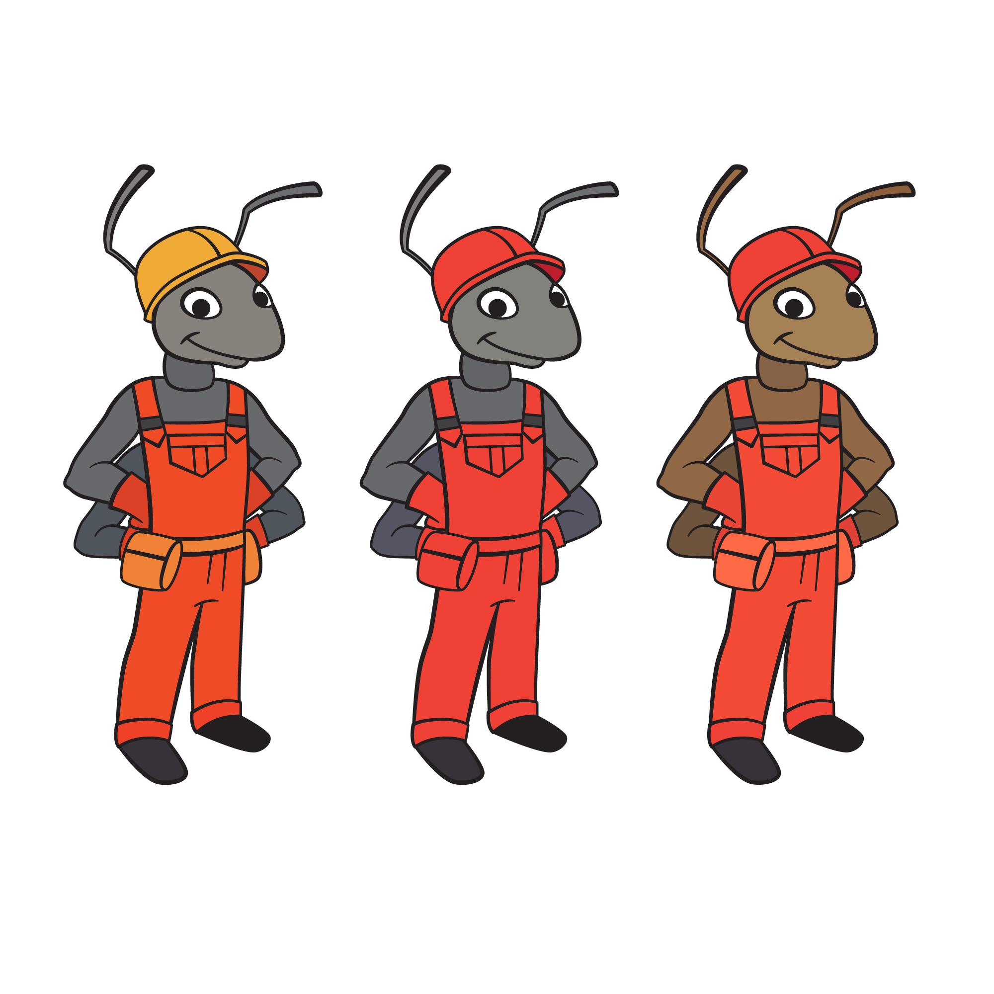 """Необходимо разработать дизайн персонажа """"Муравей"""" для сайта  фото f_521577373708a206.jpg"""