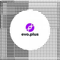 Логотип evo.plus (2 место в конкурсе)
