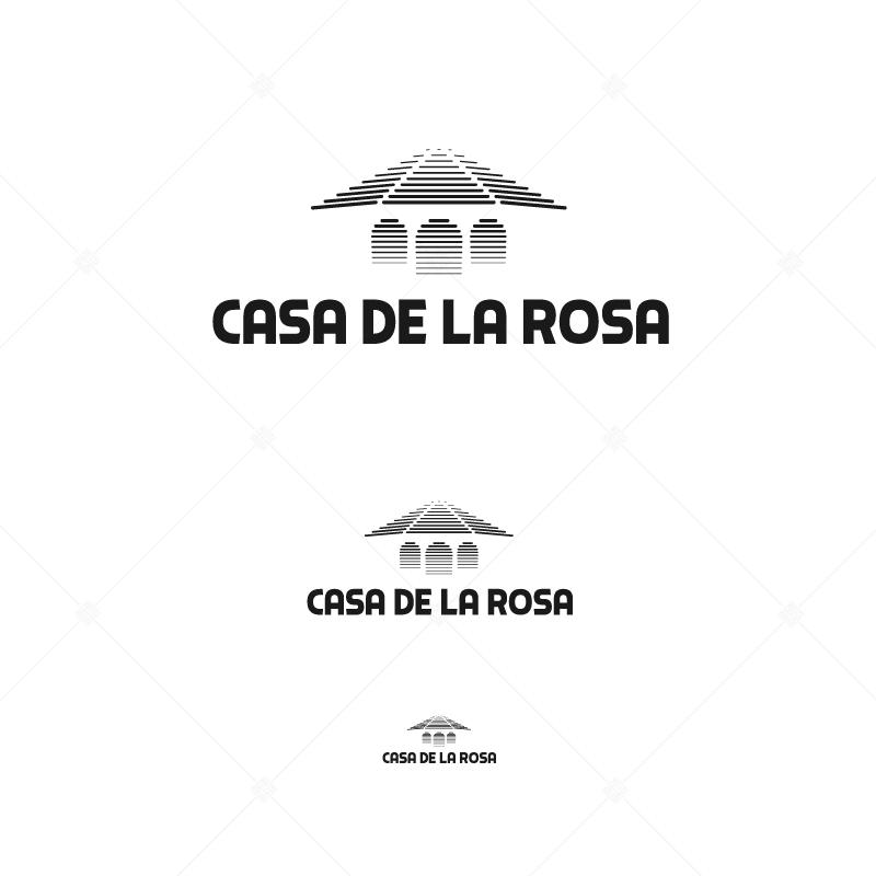 Логотип + Фирменный знак для элитного поселка Casa De La Rosa фото f_2875cd2db13da16c.jpg