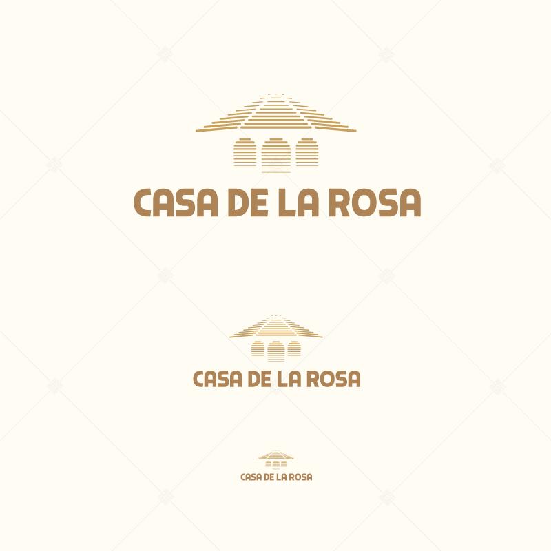 Логотип + Фирменный знак для элитного поселка Casa De La Rosa фото f_7165cd2db0fc5f02.jpg