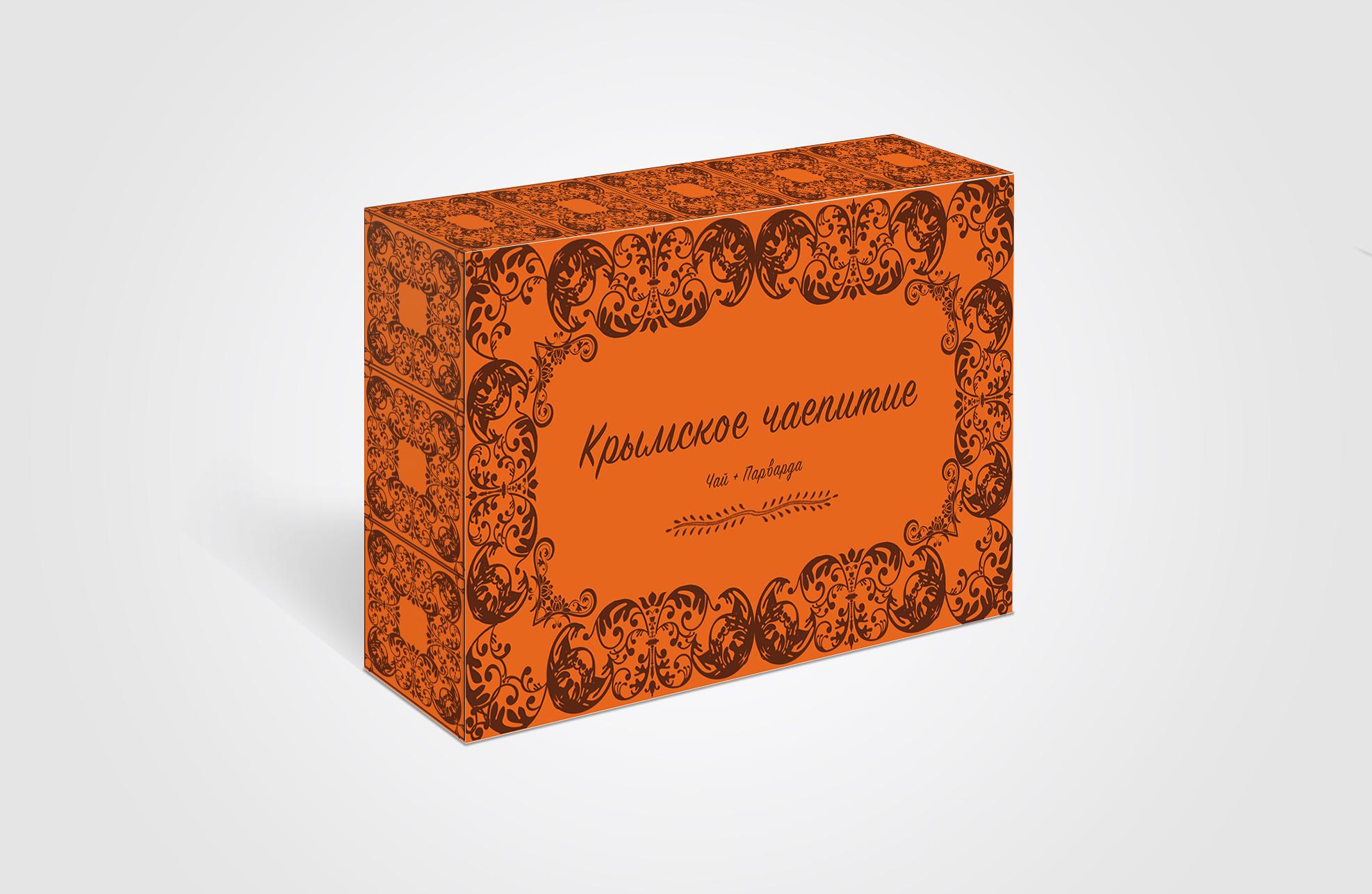 Дизайн коробки сувенирной  чай+парварда (подарочный набор) фото f_0595a536204aad00.jpg