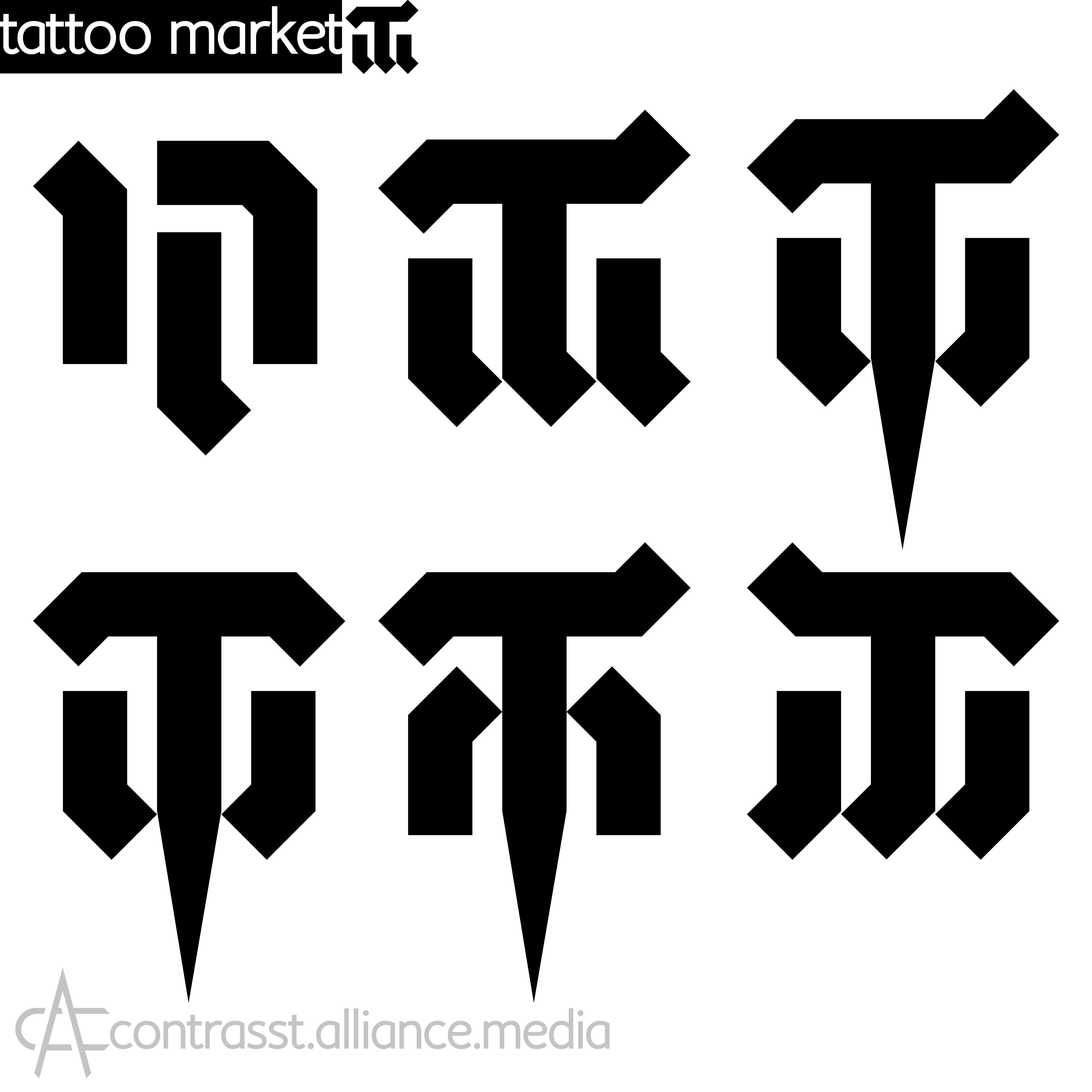 Редизайн логотипа магазина тату оборудования TattooMarket.ru фото f_1715c412bd63a2f1.jpg