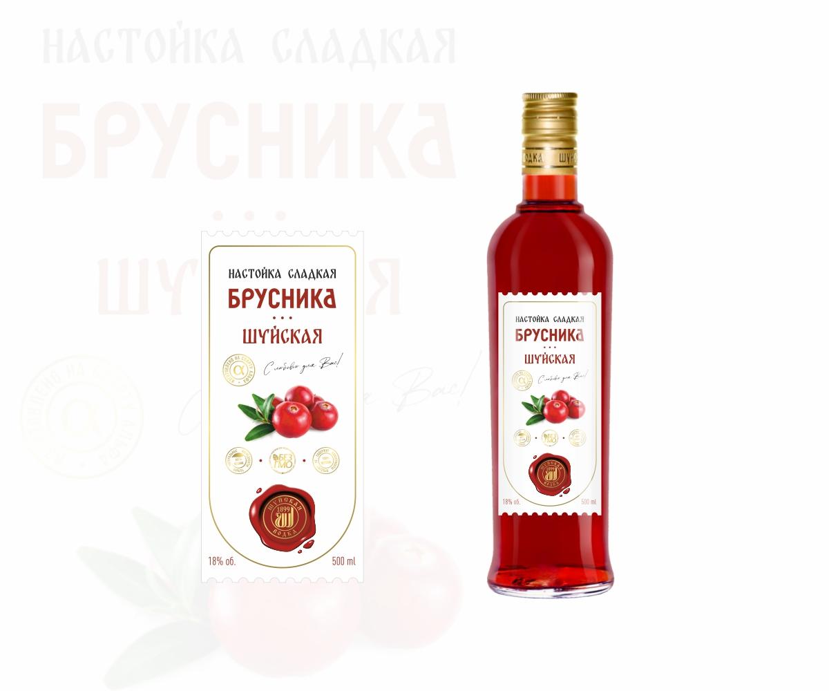 Дизайн этикетки алкогольного продукта (сладкая настойка) фото f_9395f90ed6d7d7da.jpg