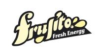 Frujito логотип для линейки фруктовых напитков