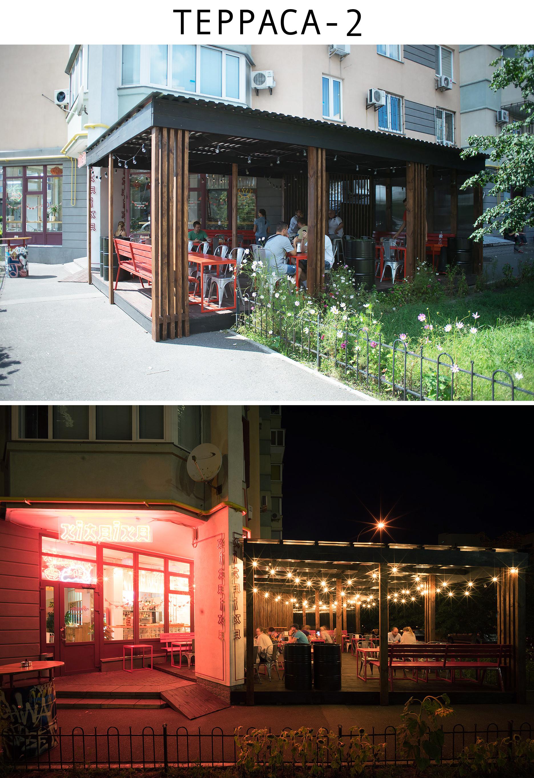 Летняя терраса кафе (Киев)