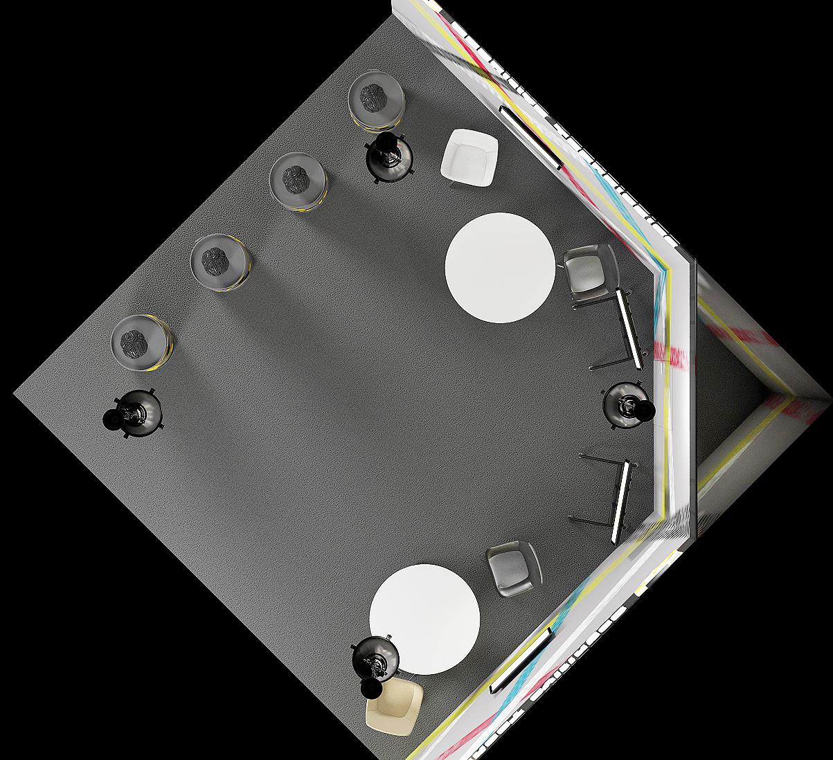 Дизайн выставочного стенда CT-1
