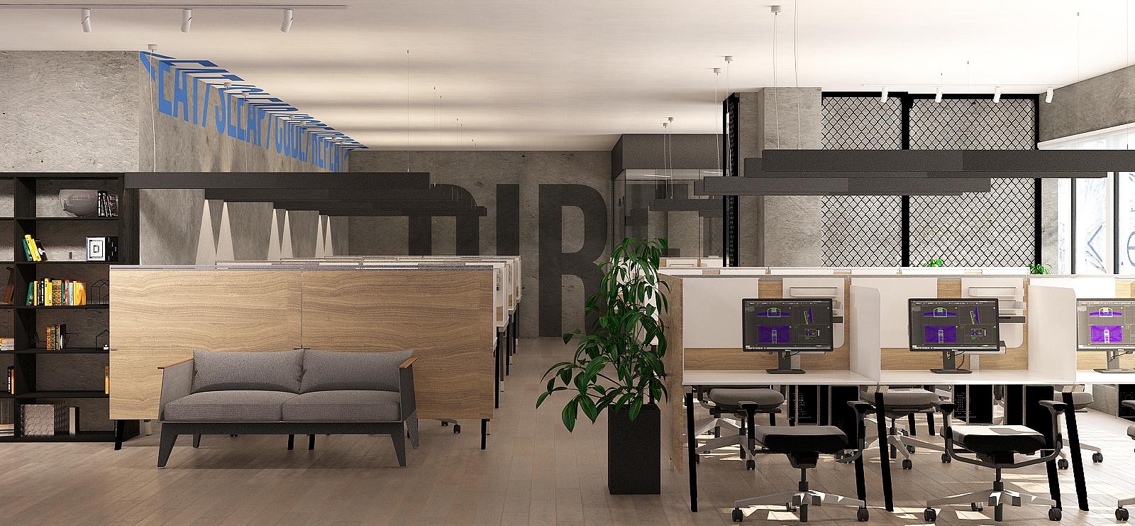 офис IT-компании Direct Line (Тольятти)