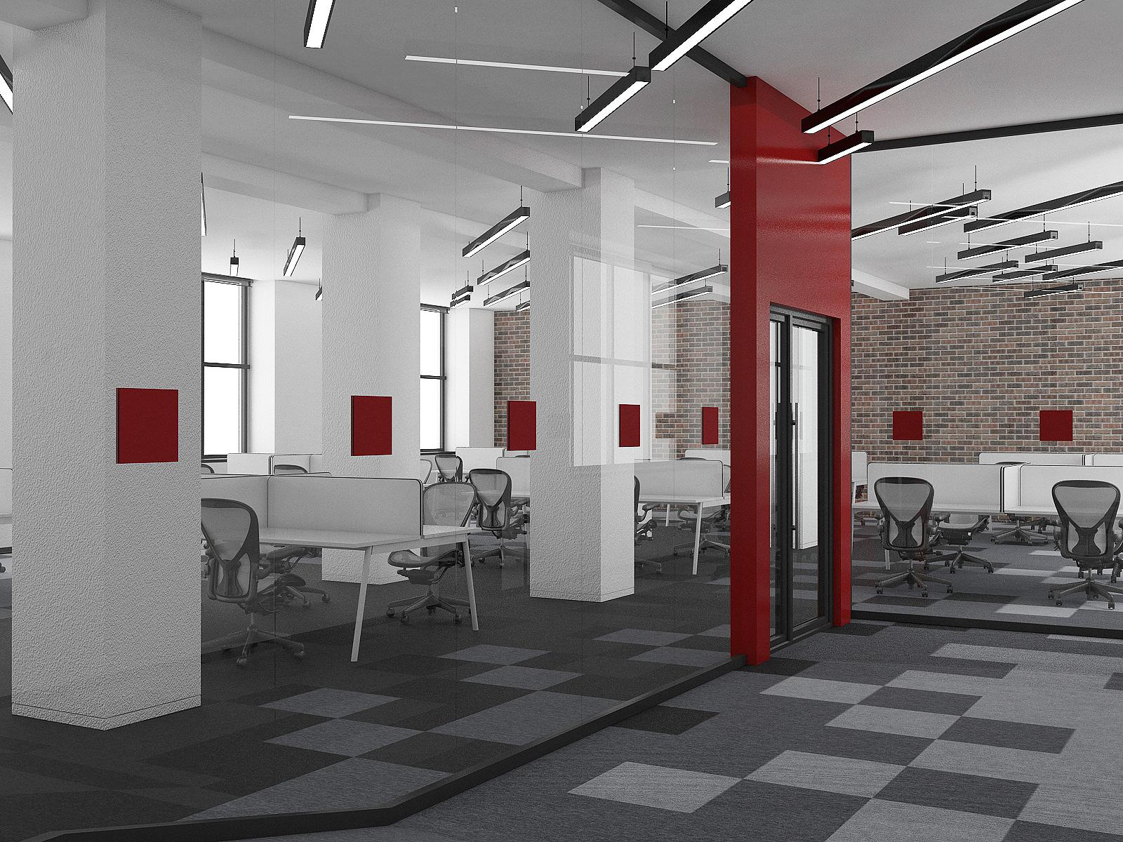 Офис в конструктивистском стиле (Мск)