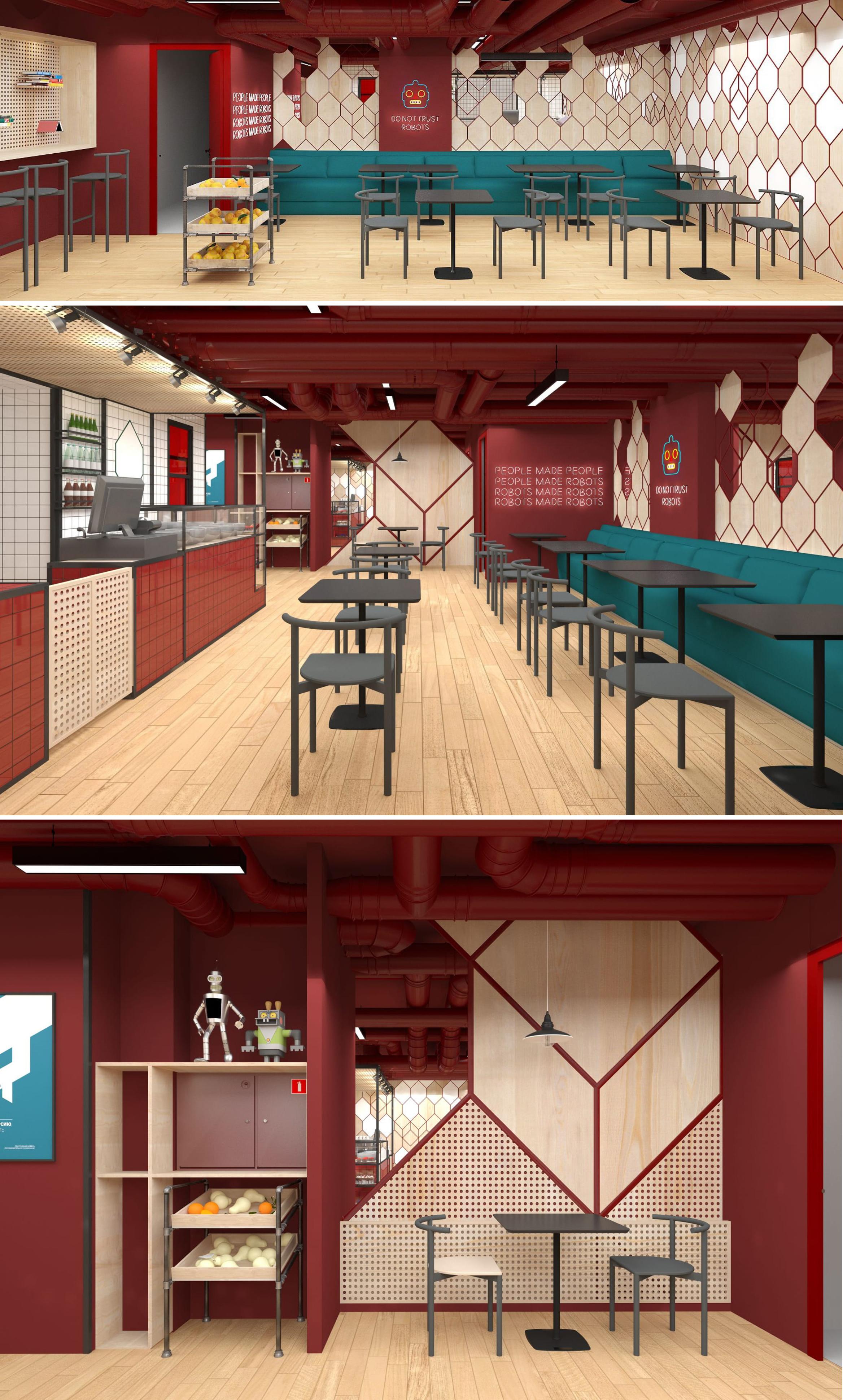 Проект и реализация кафе в Сокольниках (Мск)