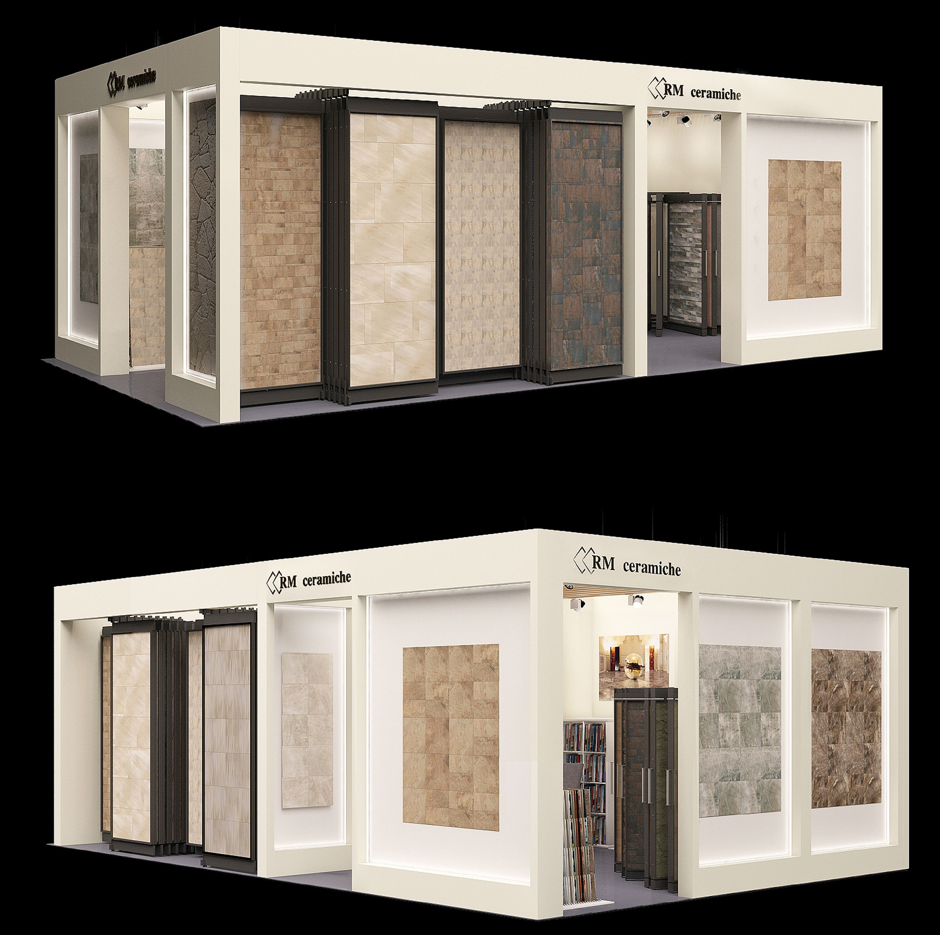 выставочный павильон RM Ceramiche в Экспострое