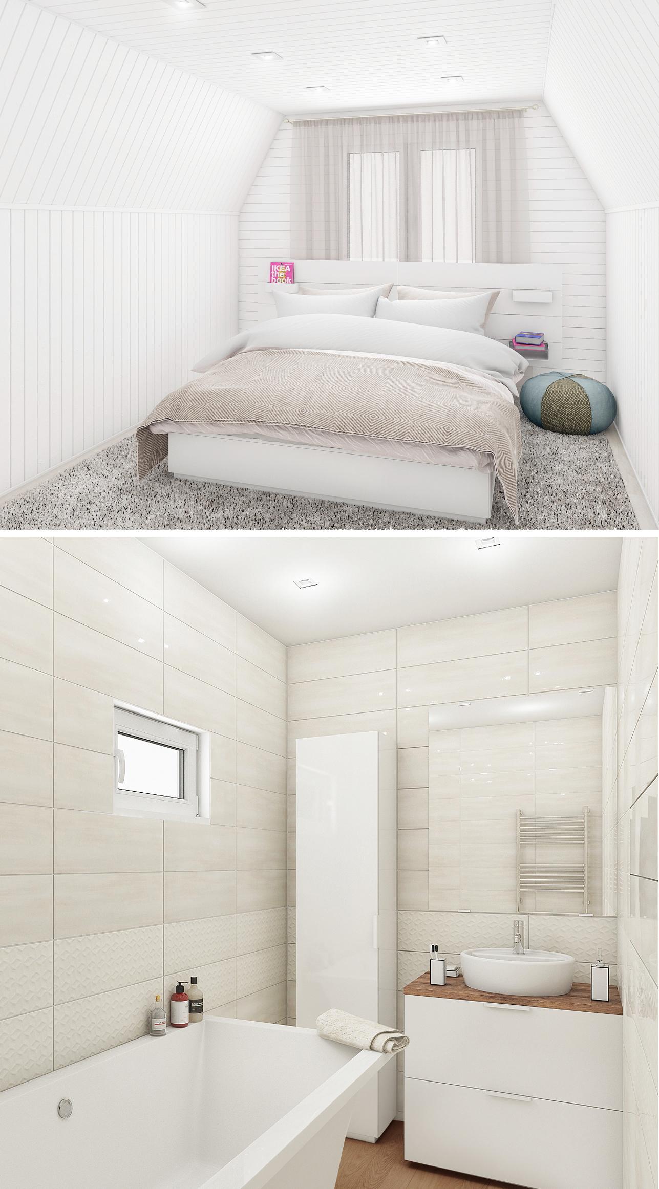 Редизайн бани в домик (Подмосковье)