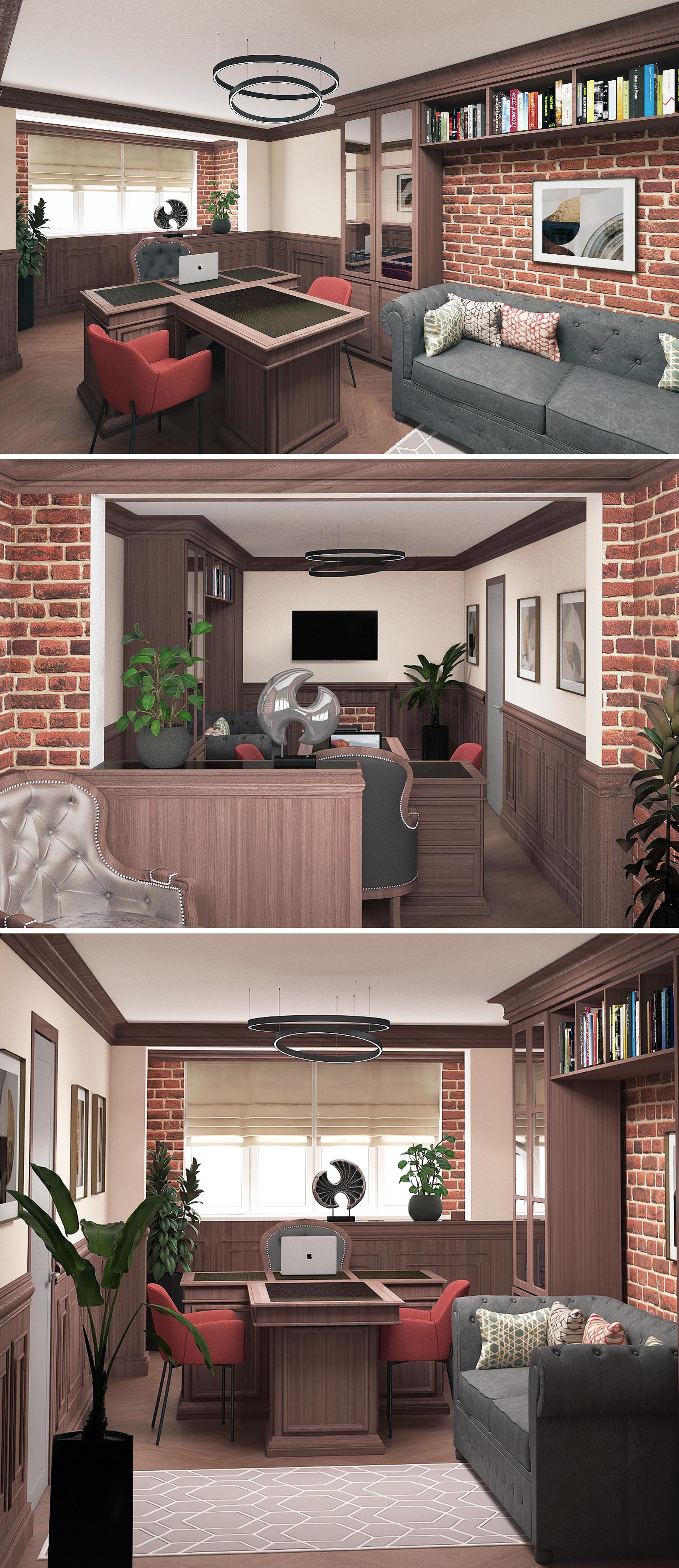 Дизайн интерьеров небольших офисов