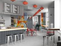 Проект и реализация кафе Китайка (Киев)
