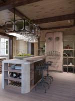 Кухня в стиле  Steampunk