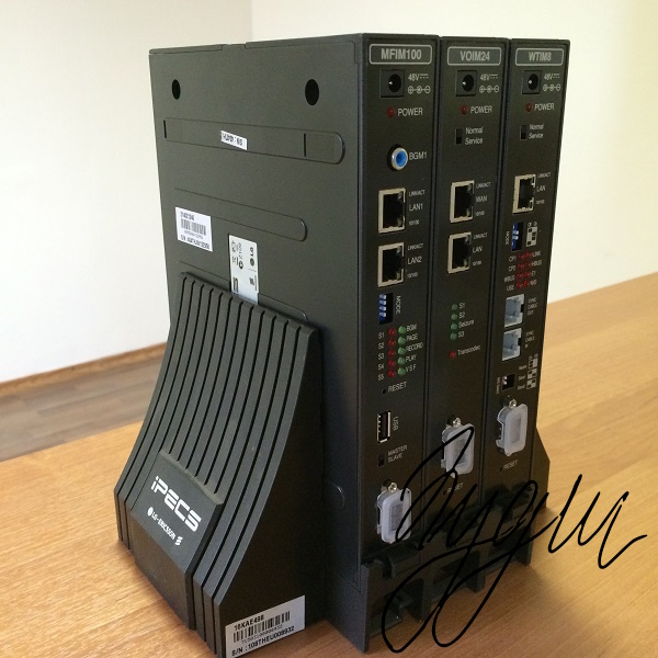 Запуск IP-АТС IPECS LIK-100 Монтаж, программирование