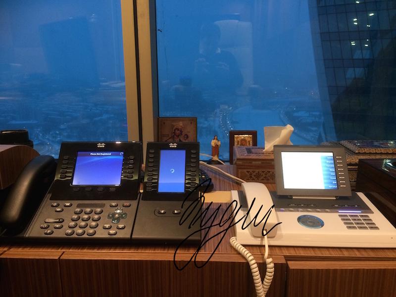 Телефония Asterisk + Cisco в Москва-сити