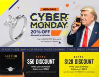 Баннер, кибер понедельник, SATEUR