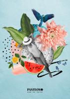 Обложка блокнота Летний концепт