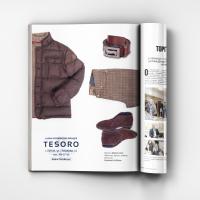 Рекламные материалы, журнал «Дорогое удовольствие» (Tesoro)