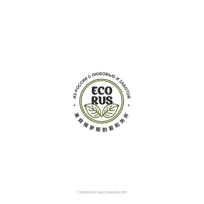 Логотип для поставщика продуктов питания из России в Китай фото f_3765eba4cd59c651.jpg