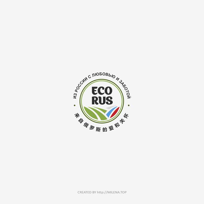 Логотип для поставщика продуктов питания из России в Китай фото f_4485eb63ec119720.jpg