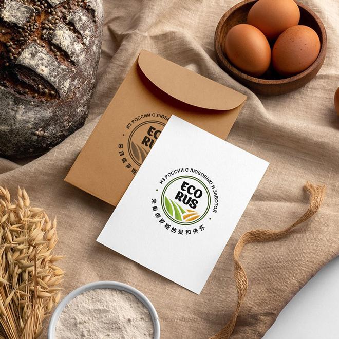 Логотип для поставщика продуктов питания из России в Китай фото f_4815eb11cf8e06c2.jpg