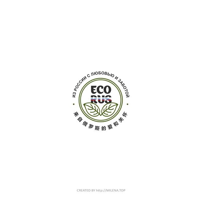 Логотип для поставщика продуктов питания из России в Китай фото f_4955eba4ce2df4f3.jpg