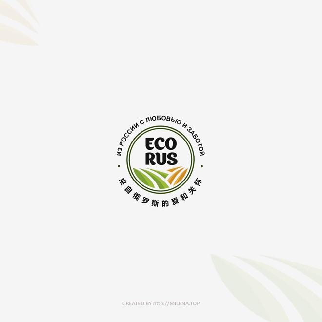 Логотип для поставщика продуктов питания из России в Китай фото f_6685eb11cfa9871d.jpg