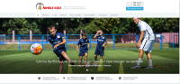 Сайт школа начального физического развития с элементами футбола