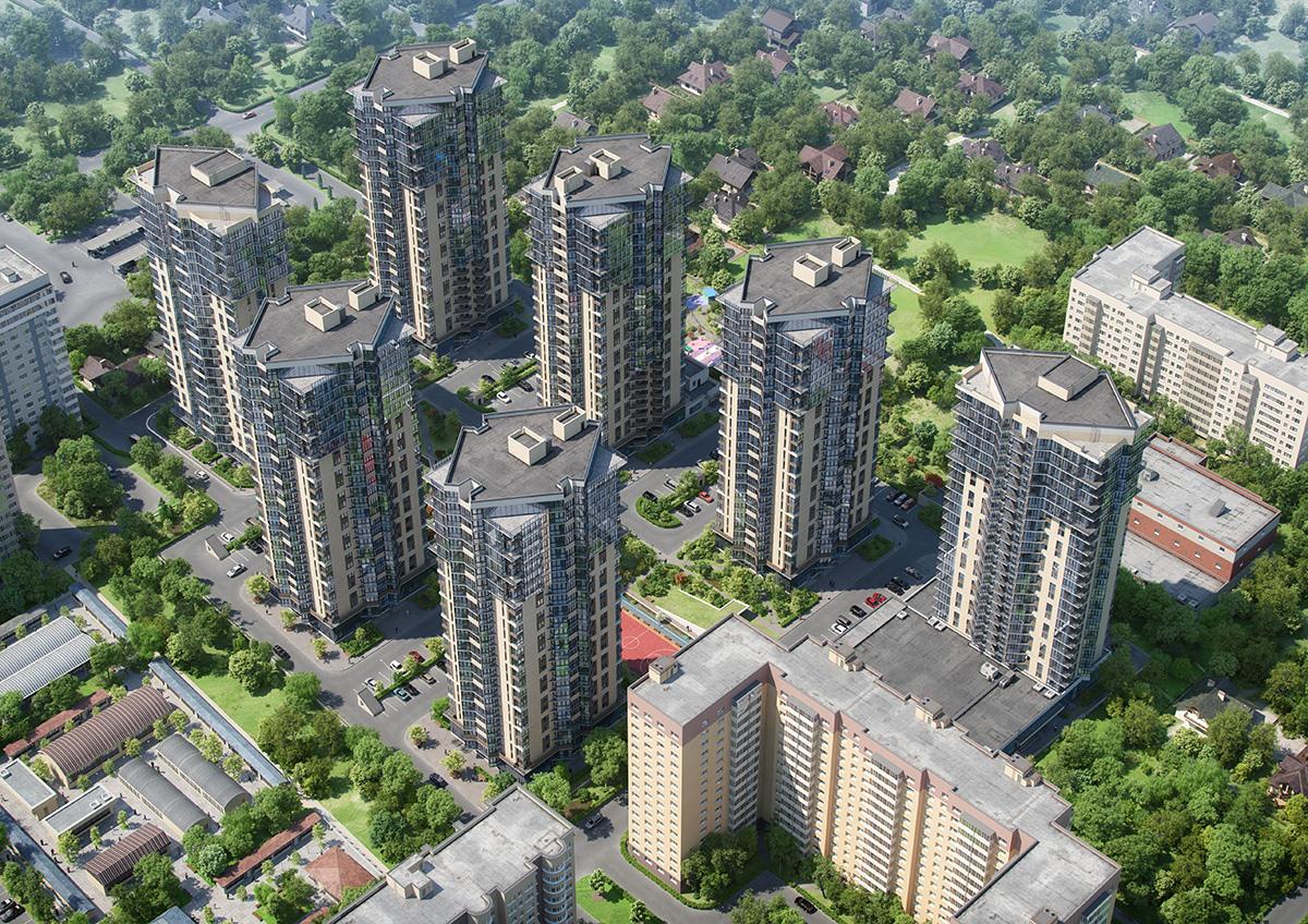 Жилой комплекс в Краснодаре