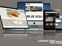 Professinal design of landing page