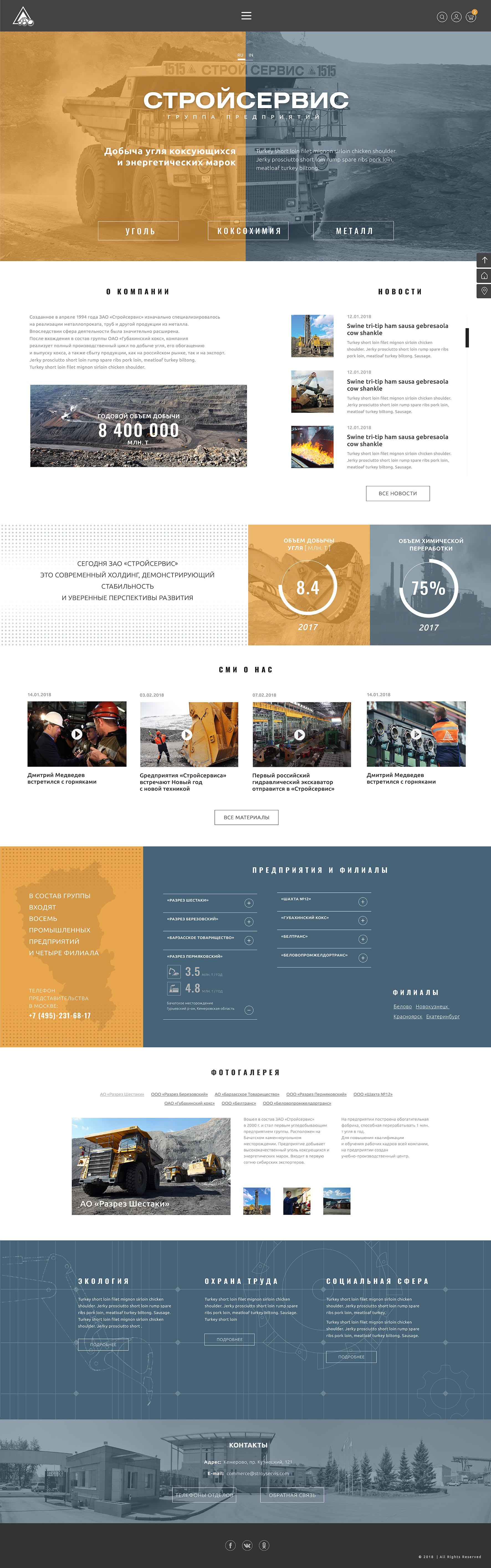 Разработка дизайна сайта угледобывающей компании фото f_5635a91b4193cf48.jpg