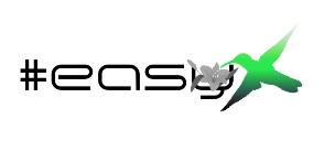 Разработка логотипа в виде хэштега #easy с зеленой колибри  фото f_7265d4eb75e63656.jpg