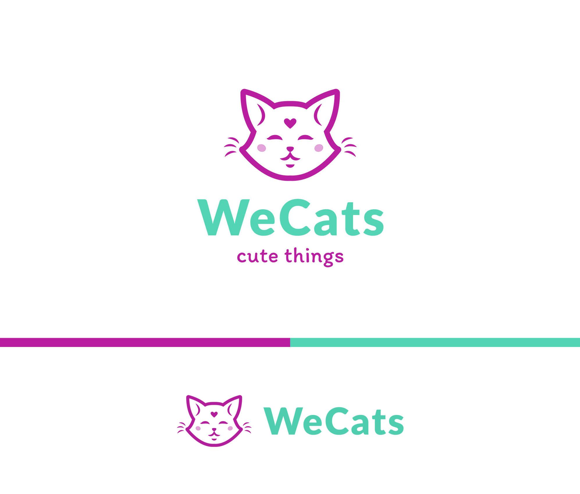 Создание логотипа WeCats фото f_3725f1daca5767f0.jpg
