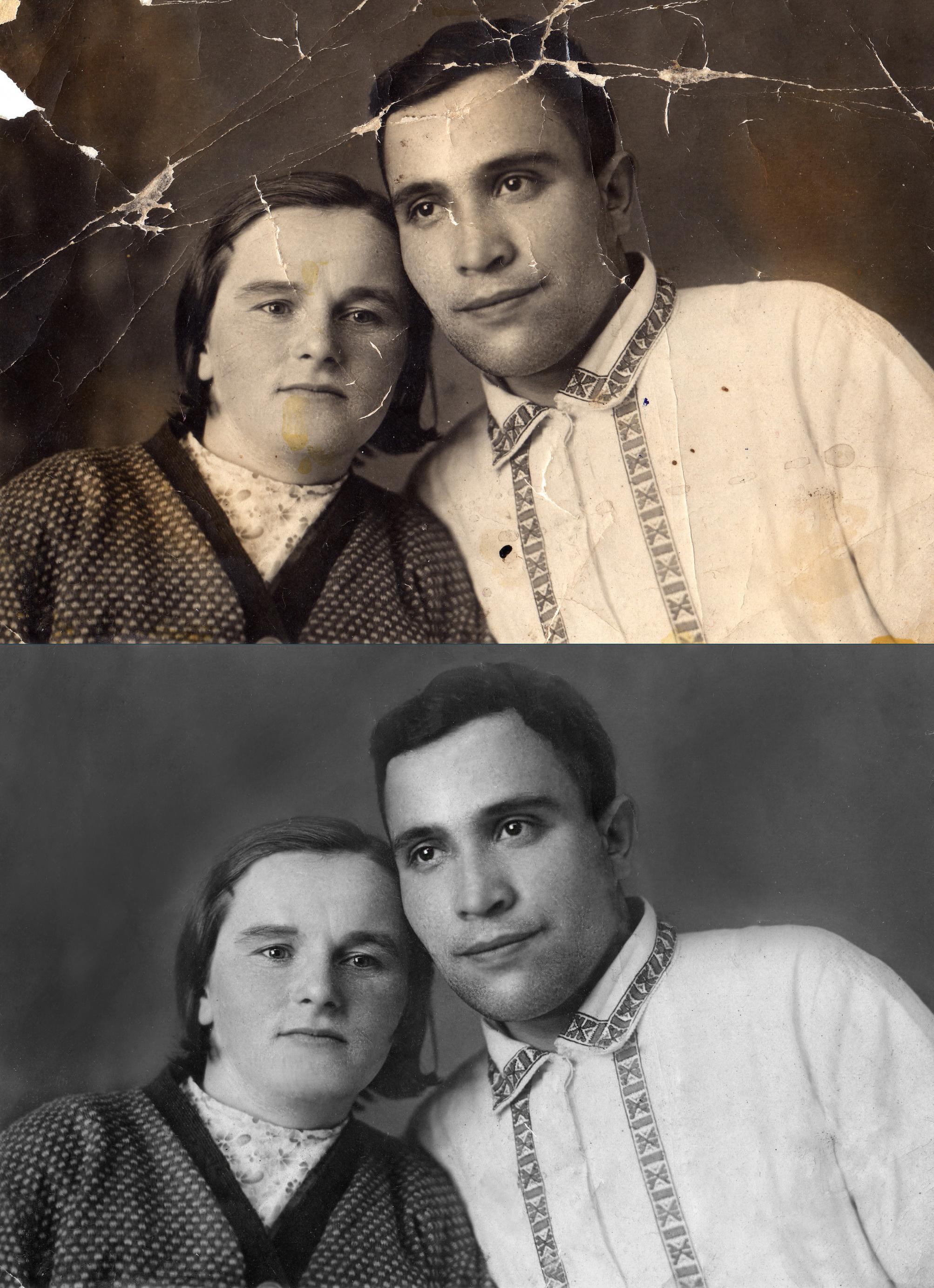 Реставрация старого фото 2