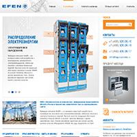 Сайт компании EFEN в России